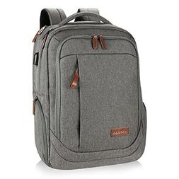 KROSER Laptop Backpack 17.3 Inch Large Computer Backpack Sch