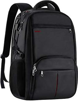 Large Laptop Backpack,17.3 inch TSA Durable Business Slim Tr