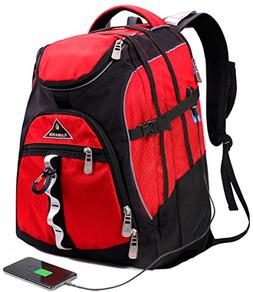 Laptop Backpack 15.6-Inch Business College Travel Computer B