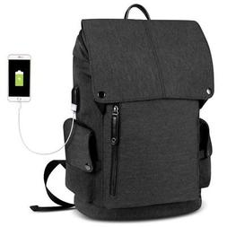 Tocode Laptop Backpack Water Resistant with USB Charging Por
