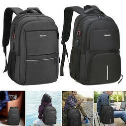Laptop Backpack with USB Port Waterproof Men Women Business