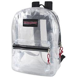 Large Clear Backpack Pvc Plastic Heavy Duty Bag School Offic