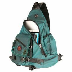 Kawei Knight Large Sling Bag Laptop Backpack Cross Body Mess