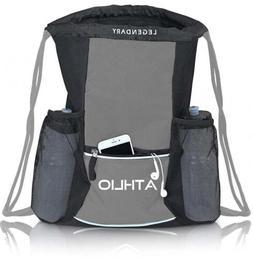 Legendary Drawstring Gym Bag - Waterproof | For Sports & Wor
