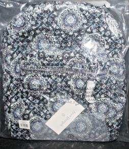 Vera Bradley  Leighton Backpack Charcoal Medallion NWT NIP