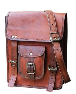LIE Genuine vintage leather ipad/tablet/kindle crossbody sho