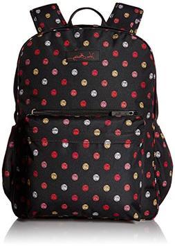 Lighten Up Grande Laptop Backpack Backpack, Havana Dots, One
