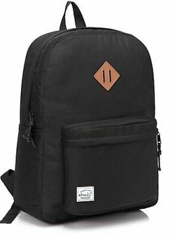 Lightweight Backpack for School VASCHY Classic Basic Water R