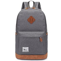 School College Backpack Classic Travel Laptop Vintage Canvas