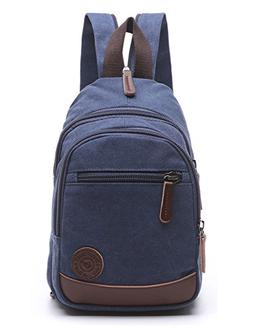 Lightweight Mini Canvas Backpack for Women Girls Purse Small