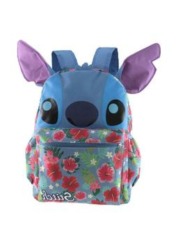 """Disney Lilo and Stitch 16"""" 3-D Style School Backpack For Wom"""