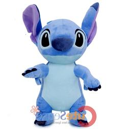 """Lilo and Stitch Large School Backpack with Angel 16"""" AOP Boo"""