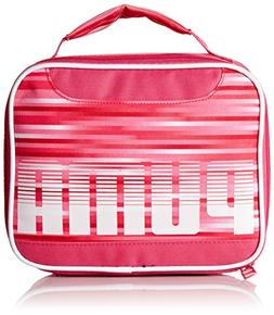 PUMA Girls' Little Backpacks, Lunch Boxes, and Bags, Pink, Y