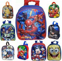 "Little Boys Toddler 10"" PreK School Backpack Cartoon Book Ba"