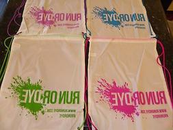 Lot of 20 Drawstring Backpack Bags Large School Sport Gym Ba