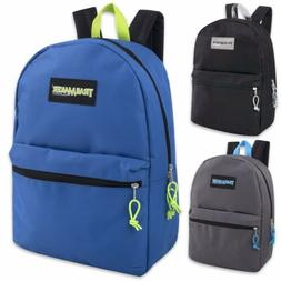 Lot Of 24 Wholesale Trailmaker Classic 17 Inch Backpacks- 3