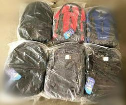 Lot of new good quality backpacks day pack school bag for wh