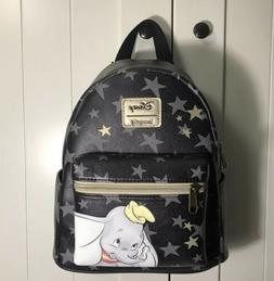 Loungefly Disney Dumbo Black Star Backpack
