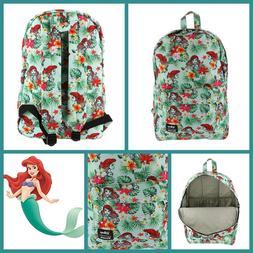 Loungefly DISNEY Little Mermaid Backpack Princess ARIEL Trop