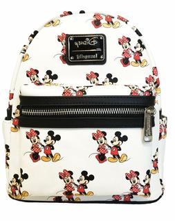 loungefly mickey and minnie mouse all over