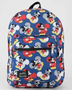 LOUNGEFLY x Disney Mickey Mouse Backpack Blue, BRAND NEW