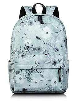 Lovely Floral Backpack for Girls, School Bookbag Travel Dayp