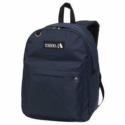 Everest Luggage Classic Backpack, Navy, Large