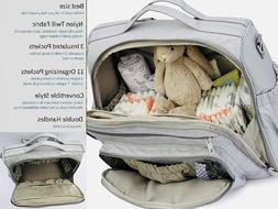 Waterproof Large Capacity Maternity Mummy Diaper Bag Baby Na