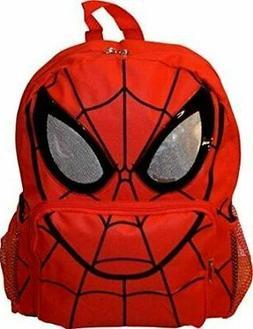 """Marvel Spiderman 14"""" Big Face School Bag Backpack"""