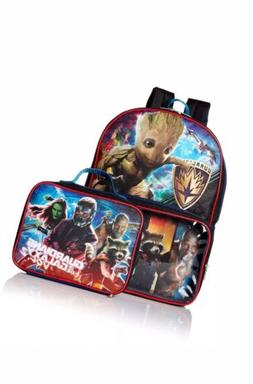 "Guardians Of The Galaxy Marvel 16"" Backpack with Clear Pocke"