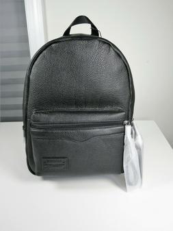 Rebecca Minkoff Medium Zip Leather Backpack Black NWT MSRP $
