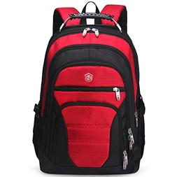 aoking Men Big Lightweight Backpack Adult Cool Laptop Comput