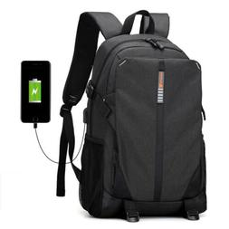 men laptop backpack business travel anti theft