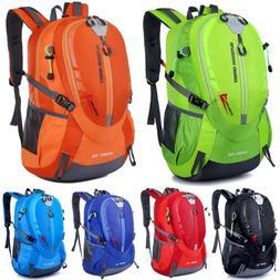 Men Large Backpack Rucksack Camping Hiking Trekking Bags Out