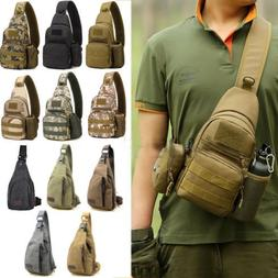 Men Military Backpack Tactical Camping Bike Messenger Should