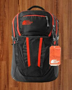 MEN RECON BACKPACK ASPHALT GREY - FIERY RED THE NORTH FACE'S