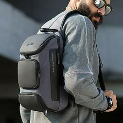Men's Anti-theft Chest Sling Bag Crossbody Shoulder Bags Cas