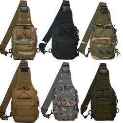 Men's Canvas Camo Military Messenger Shoulder Travel Bags Hi