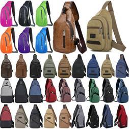 Men's Chest Bags Messenger Shoulder Sling Boys Backpack Cros