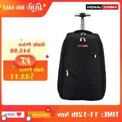 MAGIC UNION Men's Travel Bag Wheeled <font><b>Backpack</b></