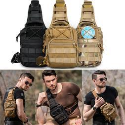Men Shoulder Messenger Bags Hamburg Chest Pack Military Tact