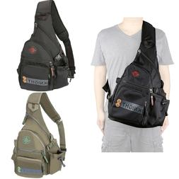 Men Women Large Sling Bag Backpack Chest Shoulder Pack Small