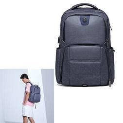 "Men's Notebook Laptop Backpack Waterproof 17"" Computer Bac"