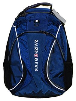 SwissGear MERCURY 16 Inch Laptop Backpack - Navy/Grey