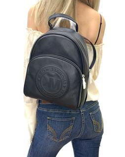 michael kors fulton sport medium backpack leather