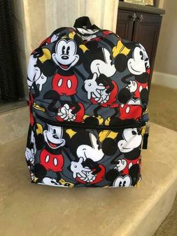 mickey mouse back pack authentic walt product