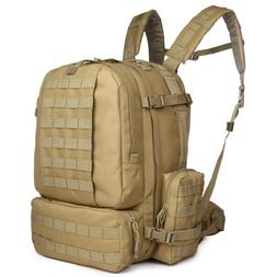 ARMYCAMOUSA  Military Rucksacks Tactical Molle Backpack Big