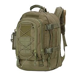 WolfWarriorX Military Tactical Assault Backpack Hiking Bag E