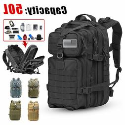 Military Tactical Large Army 3 Day Assault Outdoor Backpack