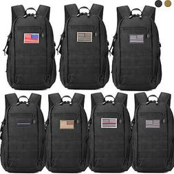 Military Tactical Molle Backpack Waterproof Trekking Army As